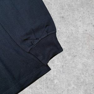 Noah NYC Shirts - Noah NYC Core Logo Black Long Sleeve Tee